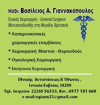 Χειρουργός-Γιαννακόπουλος-Βασίλειος-Ρεπορτάζ-Αγοράς
